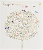 Delphine Birthday Tree And Birds