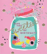 Dazzle Birthday Sweet Jar