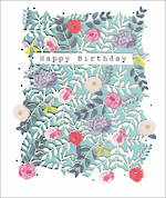 Jazzberry Jam Birthday Flowers