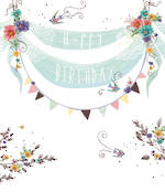Lemon Sorbet Birthday Bunting