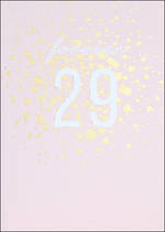 Birthday Age Card 30 Female Apollo