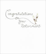 Retirement Card Mimosa Congrats