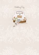 Wedding Card Trinket Box Just Married