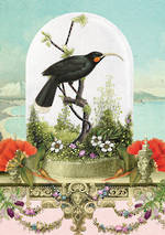 Pure NZ Botany Huia In Bell Jar