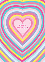 Birthday Card Female Heart