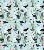 Sheet Wrap New Zealand Pukeko