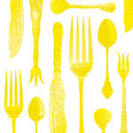 Napkins Paper Products Lunch Tableware Emboss Hot Yelow