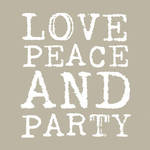 Napkins Paper Products Lunch Love & Party Taupe