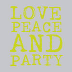 Napkins Paper Products Lunch Love & Party Lime
