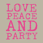 Napkins Paper Products Lunch Love & Party Pink