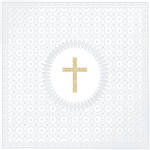 Lunch Napkins Paper Products Medaillon Crucifix