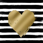 Lunch Napkins Paper Products Heart Stripes
