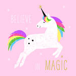 Lunch Napkins Paper Products Pink Unicorn