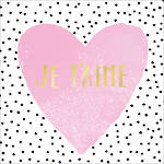 Lunch Napkins Paper Products Je T'aime