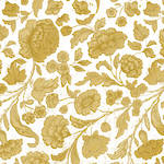 Lunch Napkins Paper Products George V Gold White