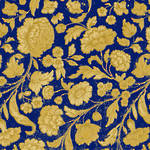 Lunch Napkins Paper Products George V Gold Blue