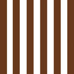 Lunch Napkins Paper Products Cabana Stripe Brown