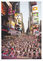 Palmpress Yoga In Times Square