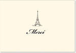 Thank You Note Cards Merci