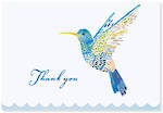 Thank You Note Cards Hummingbird