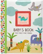 Photo Album Baby The First 5 Years Dinosaurs