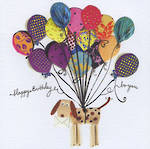 Artisan Happy Birthday Dog Balloons