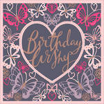 Coralie Butterfly Birthday Wishes