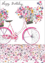 Daisy Patch Birthday Bicycle