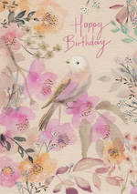 Hazy Days Happy Birthday Bird