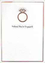 Engagement Card Inca Wahoo You're Engaged