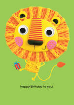 Marzipan Toybox Lion Flitter