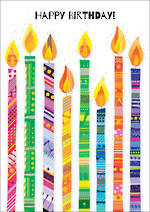 Portobello Zing Birthday Candles