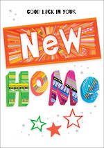 New Home Card Portobello Zing Star