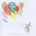 Periwinkle Mouse Balloons