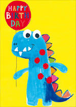 Kids' Birthday Card Hoopla Happy Birthday Dino