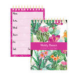 Pizazz Cactus A5 Weekly Planner Pad