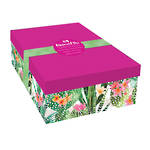 Pizazz Cactus A4 Document Box