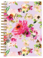 Lilac Bloom A5 Wiro Notebook