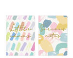 Pastel Patter A6 Soft Cover Notebook