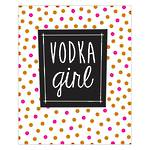 Deck Chair Vodka Girl