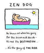 Edward Monkton Zen Dog
