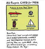Edward Monkton Card For Men