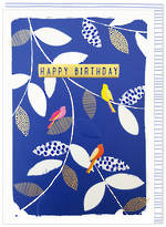 Kirra Birthday Blue Leaves