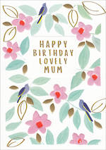 Mum Birthday Card Kirra Birthday Birds