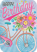 Retro Flair Birthday Bike