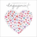 Engagement Card Heart Of Hearts