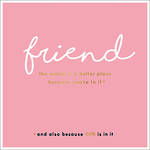 Alice Scott Pink Friend