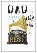 Dad Birthday Card Louise Tiler Dad Record