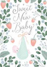 Baby Card Bundle In Berries Garden