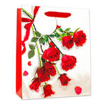 Small Gift Bag Rose Bouquet